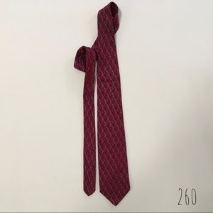 Robert Talbot red & blue silk tie (260)